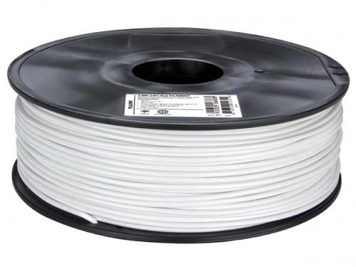 3 mm pla-draad - wit - 1 kg - pla3w1