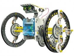 educatieve robotkit op zonne-energie - 14-in-1 - ksr13
